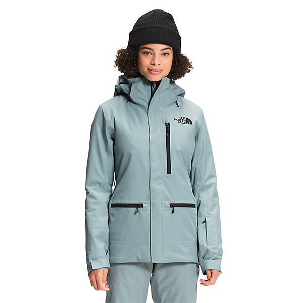 The North Face Gatekeeper Womens Insulated Ski Jacket 2022, Silver Blue, 600