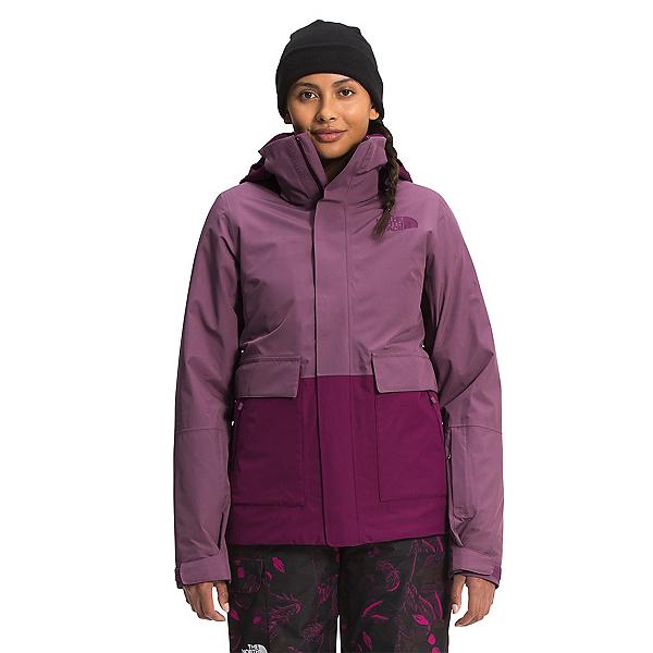 The North Face Garner Triclimate Womens Insulated Ski Jacket 2022, Pikes Purple-Pamplona Purple-TNF Black, 600
