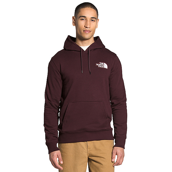 The North Face Patch Pullover Mens Hoodie, Root Brown, 600