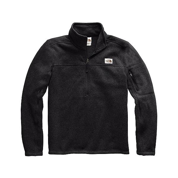 The North Face Gordon Lyons 1/4 Zip Mens Sweater, TNF Black Heather, 600
