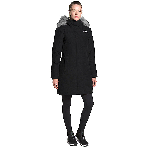 The North Face Arctic Parka Womens Jacket, TNF Black, 600