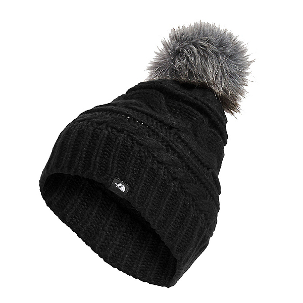 The North Face Triple Cable Beanie, TNF Black, 600