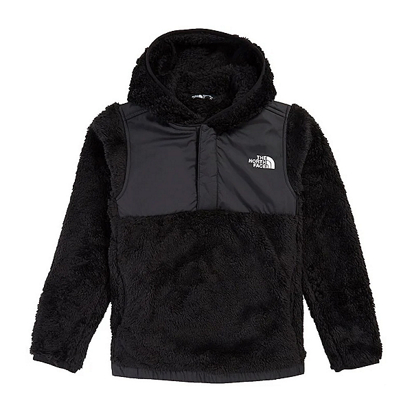 The North Face Suave Oso Pullover Girls Jacket, TNF Black, 600