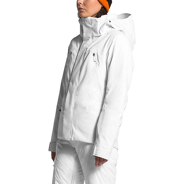 The North Face Lenado Womens Shell Ski Jacket, TNF White, 600