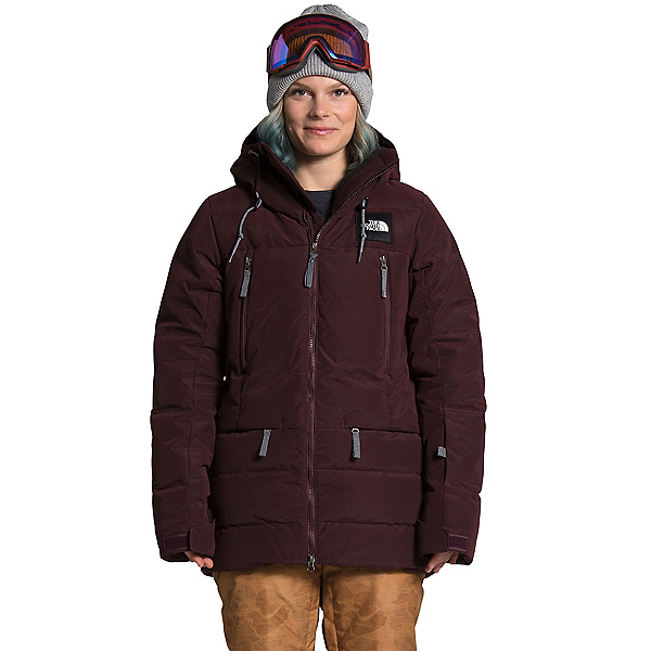 The North Face Pallie Down Womens Insulated Ski Jacket, Root Brown, 600