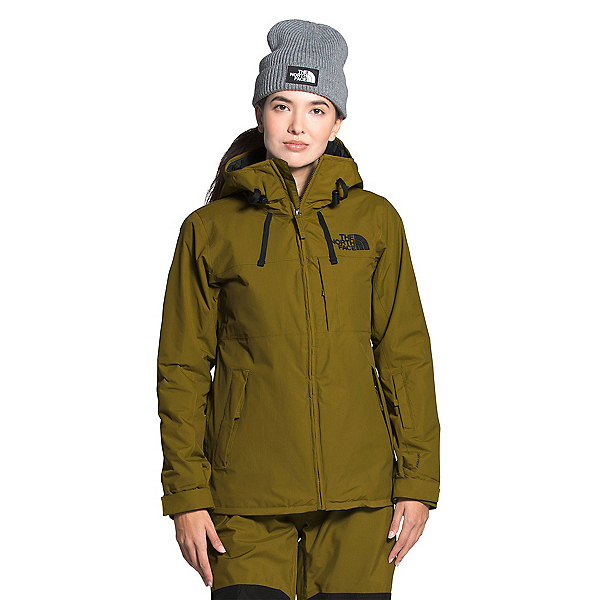 The North Face Superlu Womens Insulated Ski Jacket, Fir Green, 600