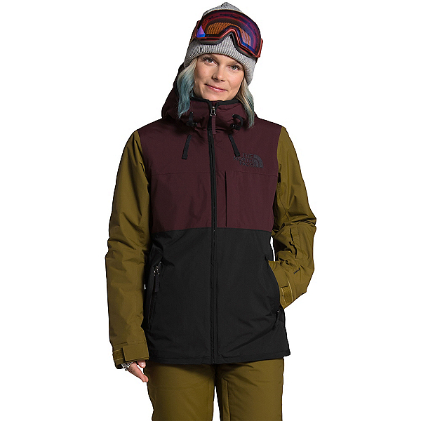 The North Face Superlu Womens Insulated Ski Jacket, TNF Black-Root Brown, 600