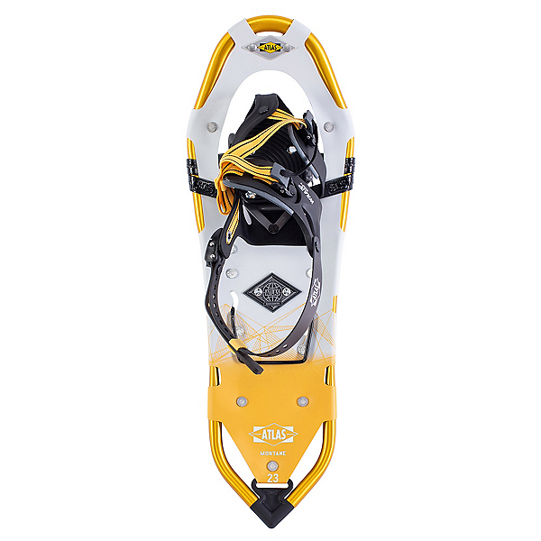 Atlas Montane W Backcountry Snowshoes, Yellow-White, 600