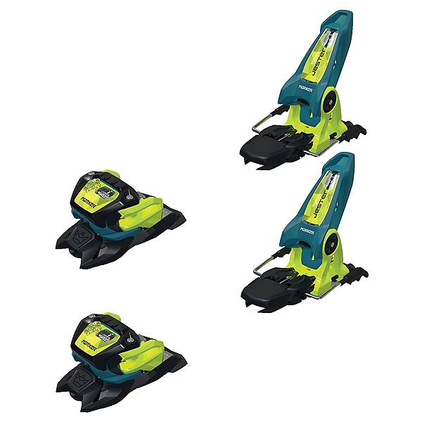 Marker Jester 18 Pro ID Ski Bindings, Teal-Flo Yellow, 600