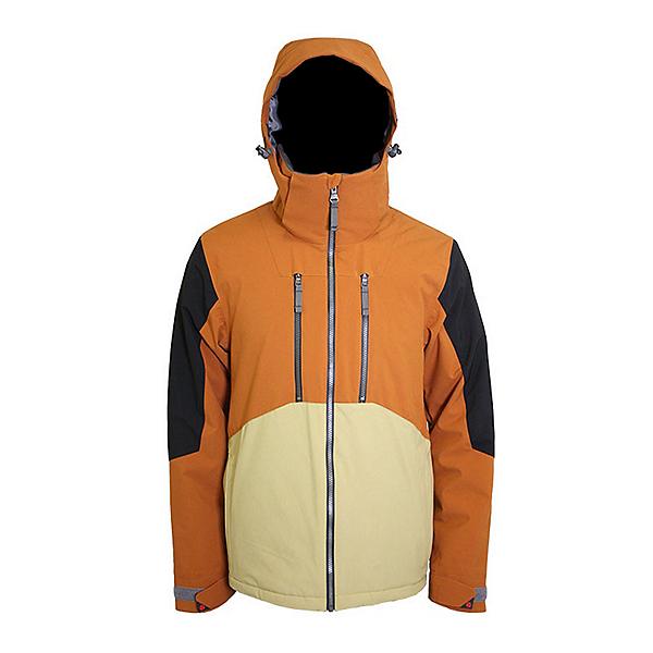 Turbine Shralp Mens Insulated Snowboard Jacket 2022, Almond, 600