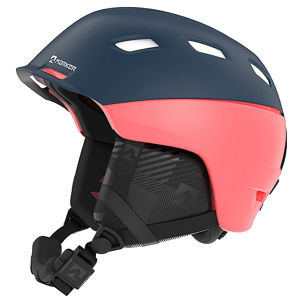 Marker Ampire W Womens Helmet, Blue-Coral, 600