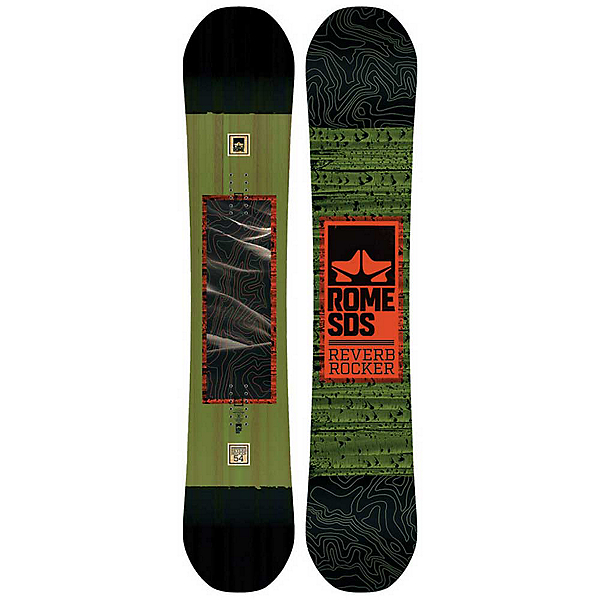 Rome Reverb Rocker Wide 17-18 Snowboard, , 600