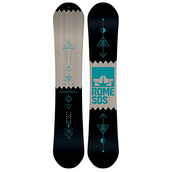 Rome Mechanic 18-19 Snowboard, , 600
