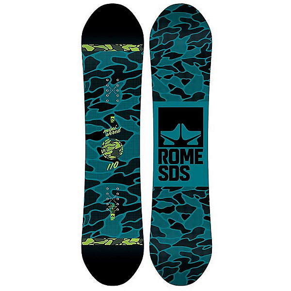 Rome Minishred 18-19 Boys Snowboard, 90cm, 600