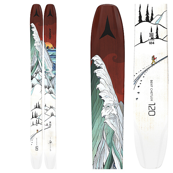 Atomic Bent Chetler 120 Skis 2021, , 600