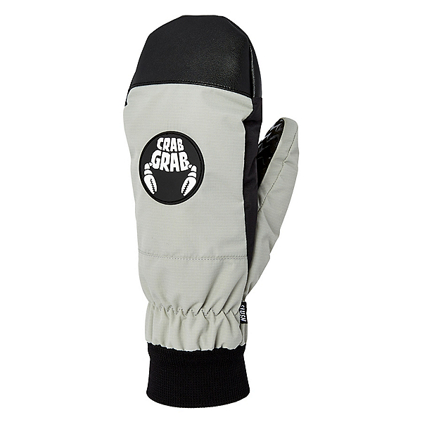 Crab Grab Slush Mittens, Bright Grey, 600