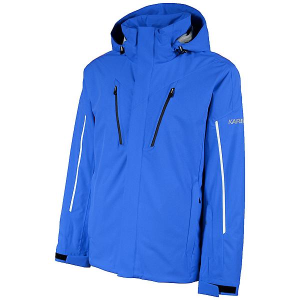 Karbon Helium Mens Insulated Ski Jacket, Royal-Black-Glacier-Royal, 600