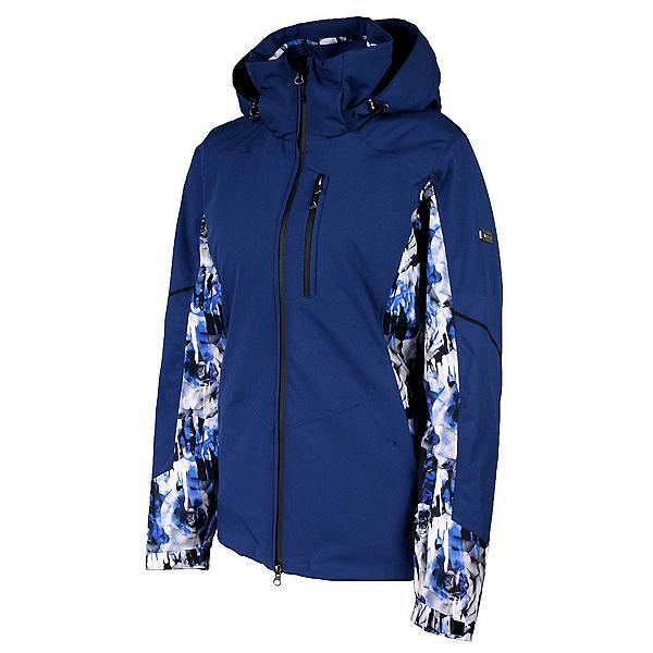 Karbon Amber Print Womens Insulated Ski Jacket, , 600