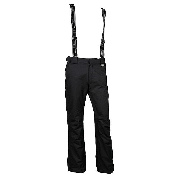 Karbon Nitrogen Mens Ski Pants, Black-Black-Black, 600