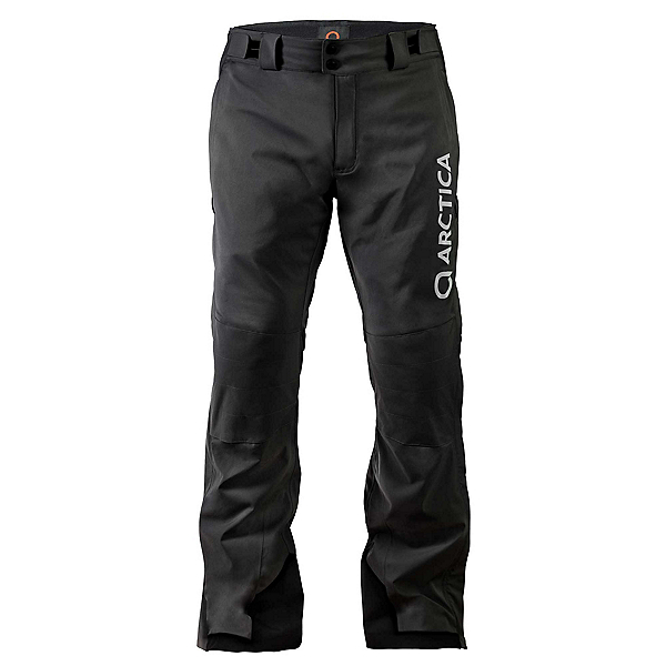 Arctica Speedster Side Zip Pant Mens Ski Pants, Black, 600