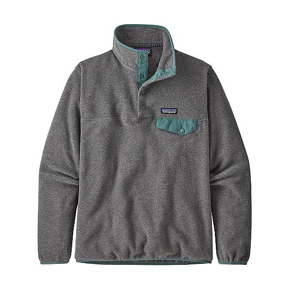 Patagonia Lightweight Synchilla Snap-T Womens Pullover 2021, Nickel W-Regen Green, 600