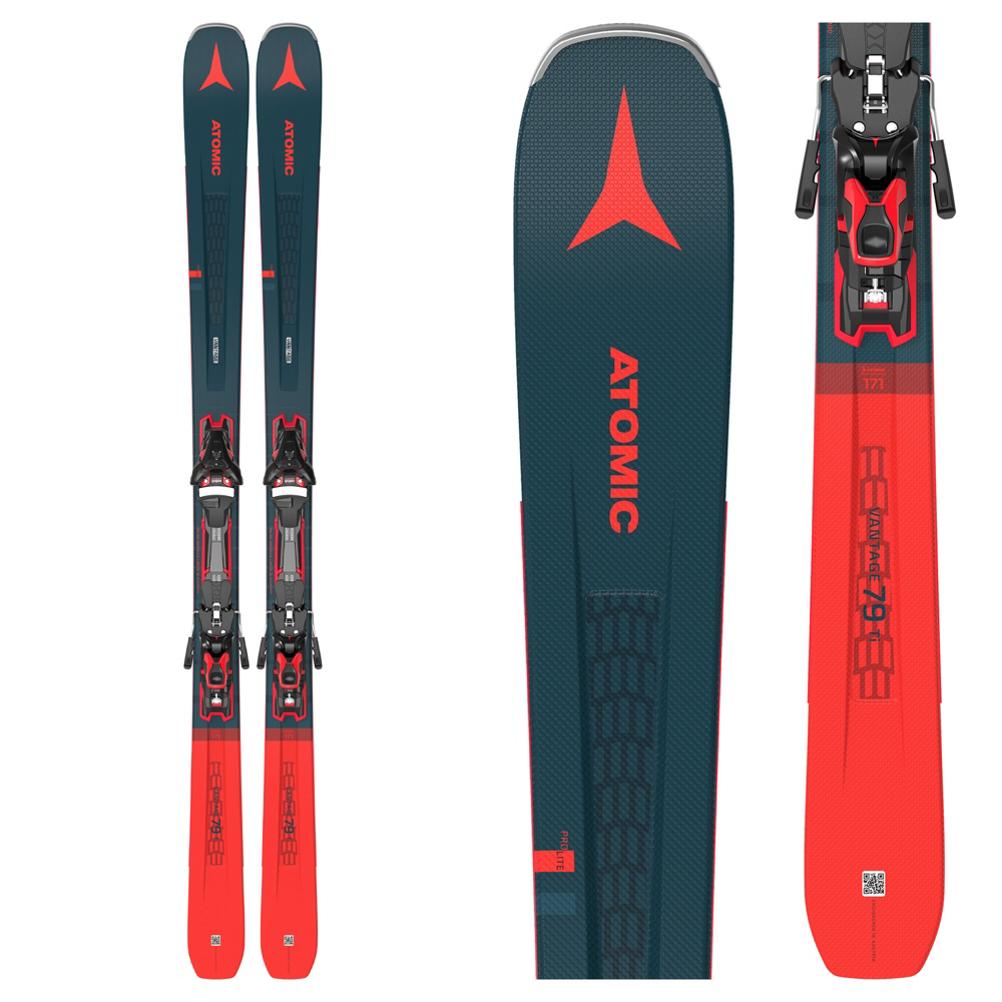 Atomic Vantage 79 TI Skis with F 12 GW Bindings 2021
