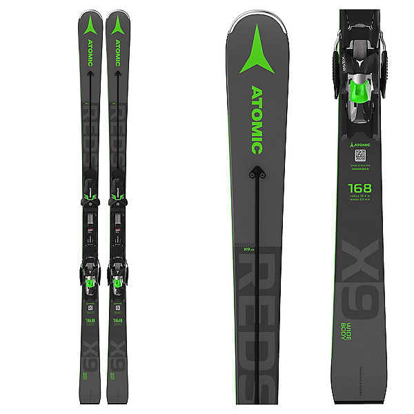 Atomic Redster X9 WB Skis with X 12 GW Bindings, , 600