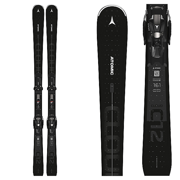 Atomic Cloud 12 Womens Skis with X 12 GW Bindings, , 600