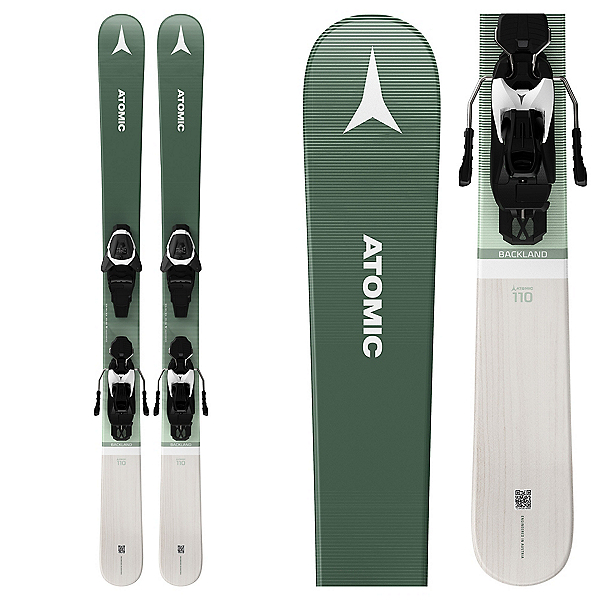 Atomic Backland Girls Skis with L 6 GW Bindings 2022, , 600