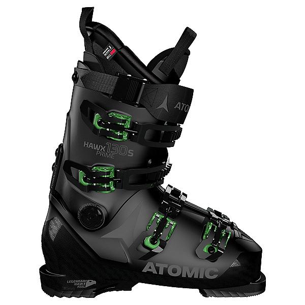 Atomic Hawx Prime 130 S Ski Boots, Black-Green, 600