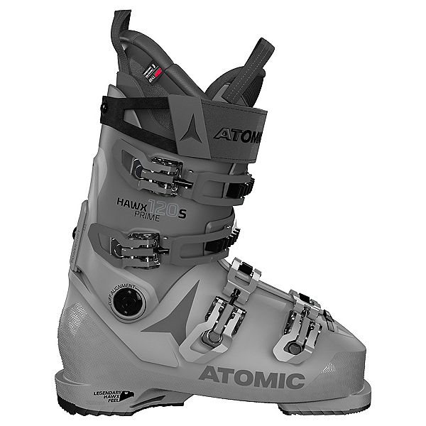 Atomic Hawx Prime 120 S Ski Boots, Dark Grey-Anthracite, 600