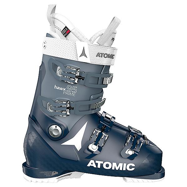 Atomic Hawx Prime 95 Womens Ski Boots, Dark Blue-Denim Blue, 600