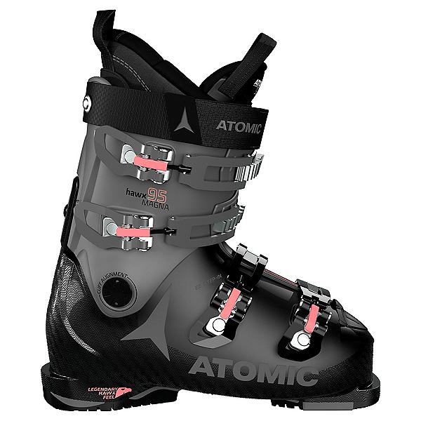 Atomic Hawx Magna 95 Womens Ski Boots, Black-Anthracite-Coral, 600