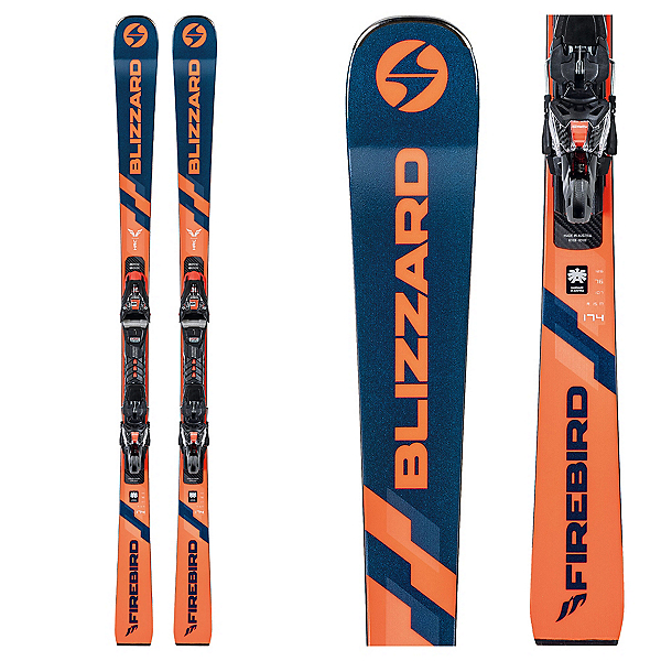 Blizzard Firebird HRC Skis with XCell 14 Bindings, , 600