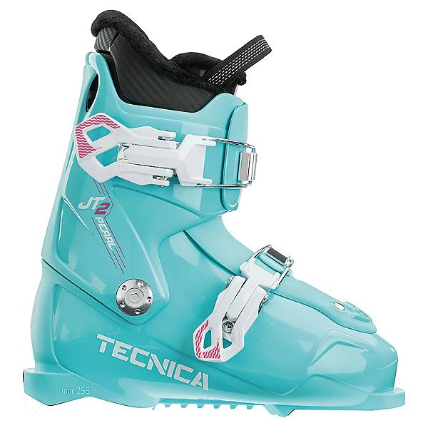 Tecnica JT 2 Pearl Kids Ski Boots, Light Blue, 600