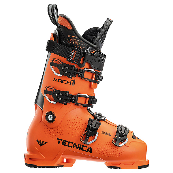 Tecnica Mach 1 130 LV Ski Boots, Ultra Orange, 600