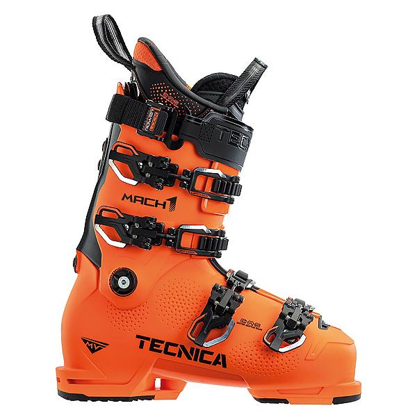 Tecnica Mach 1 130 MV Ski Boots 2022, Ultra Orange, 600