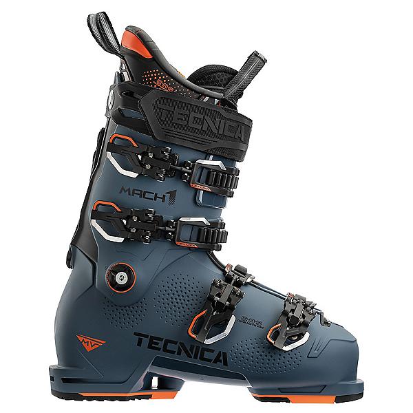 Tecnica Mach 1 120 MV Ski Boots, Dark Avio, 600