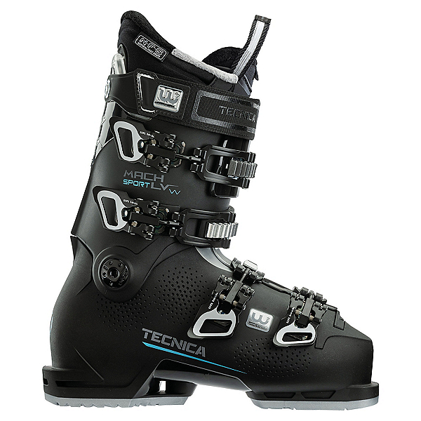 Tecnica Mach Sport 85 LV Womens Ski Boots 2022, Black, 600