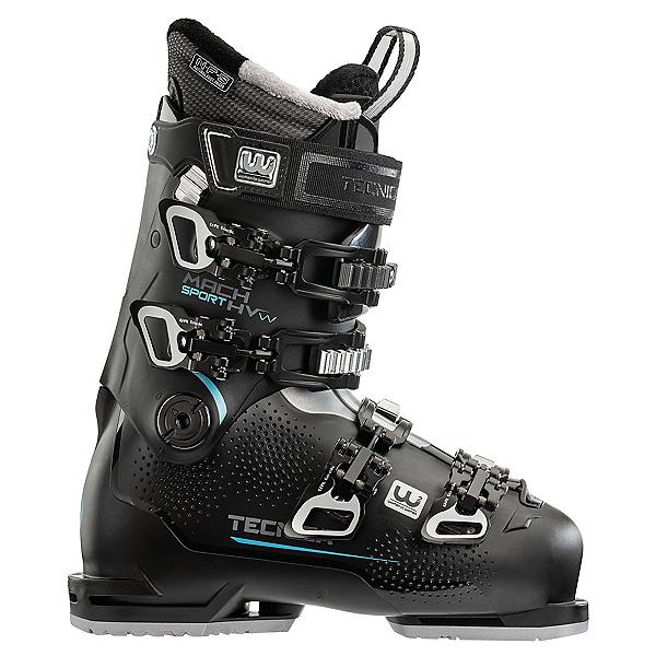 Tecnica Mach Sport 85 HV Womens Ski Boots 2021, Black, 600