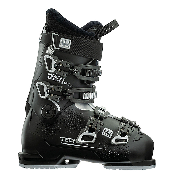 Tecnica Mach Sport 65 HV Womens Ski Boots 2021, Black, 600