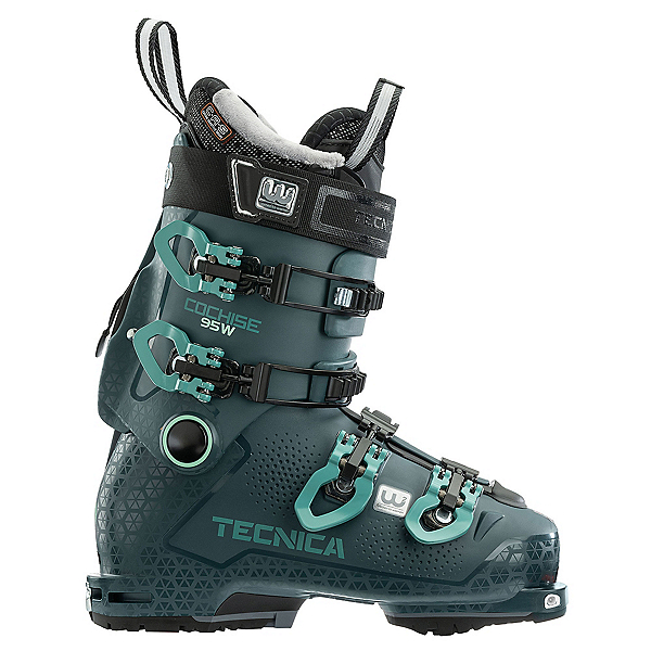 Tecnica Cochise 95 W DYN GW Womens Ski Boots, Petrol, 600