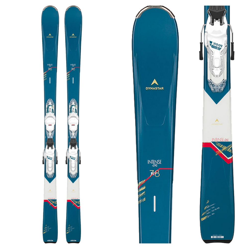 Dynastar Intense 4x4 78 Womens Skis with Xpress 11 GW Bindings