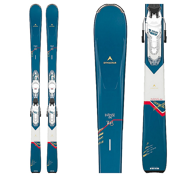 Dynastar Intense 4x4 78 Womens Skis with Xpress 11 GW Bindings 2021, , 600