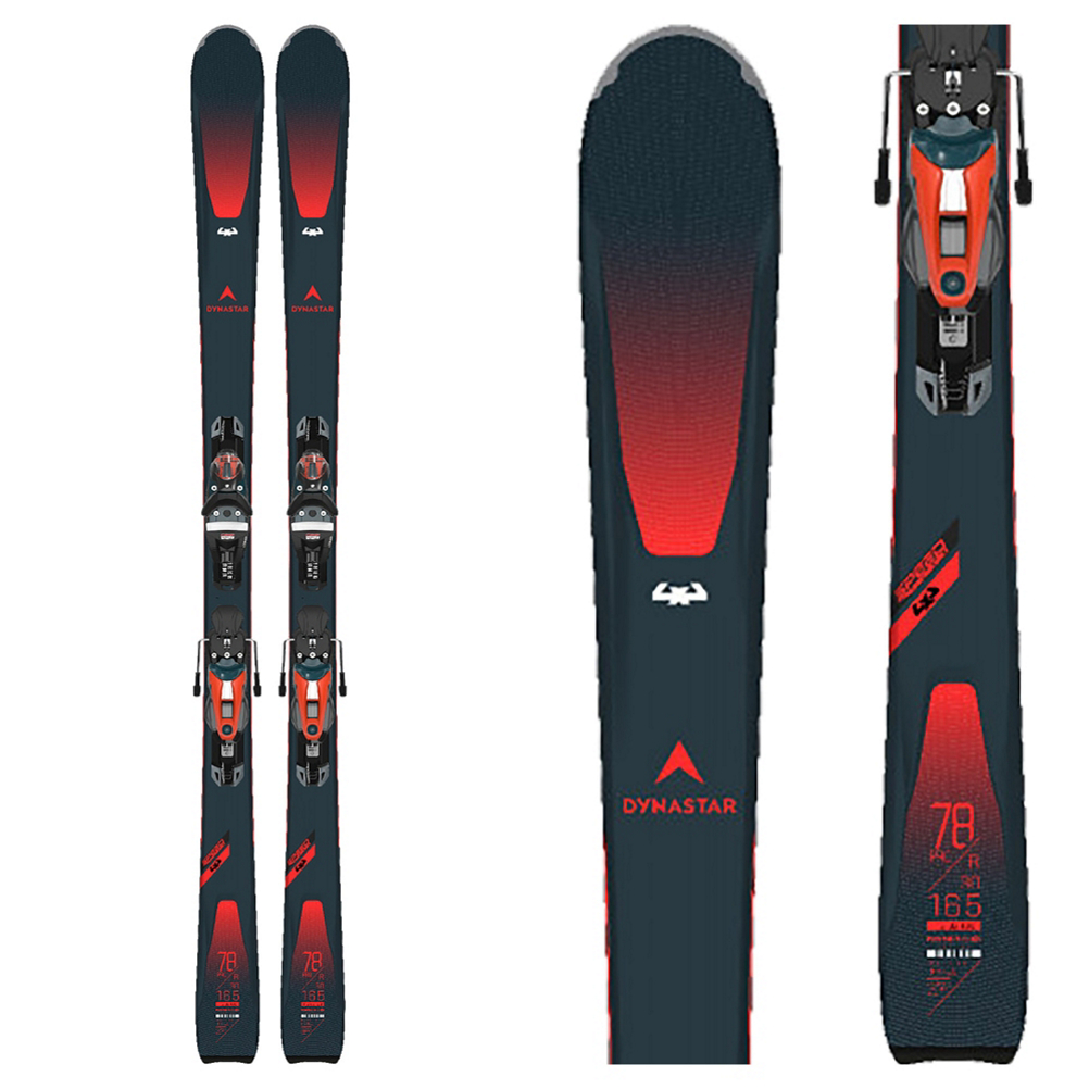 Dynastar Speed Zone 4x4 78 Pro Skis with NX Konect 12 GW Bindings