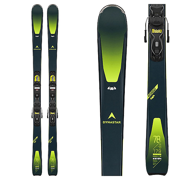 Dynastar Speed Zone 4x4 78 Skis with Xpress 11 GW Bindings, , 600