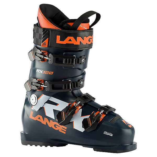Lange RX 120 Ski Boots, Black-Blue-Orange, 600