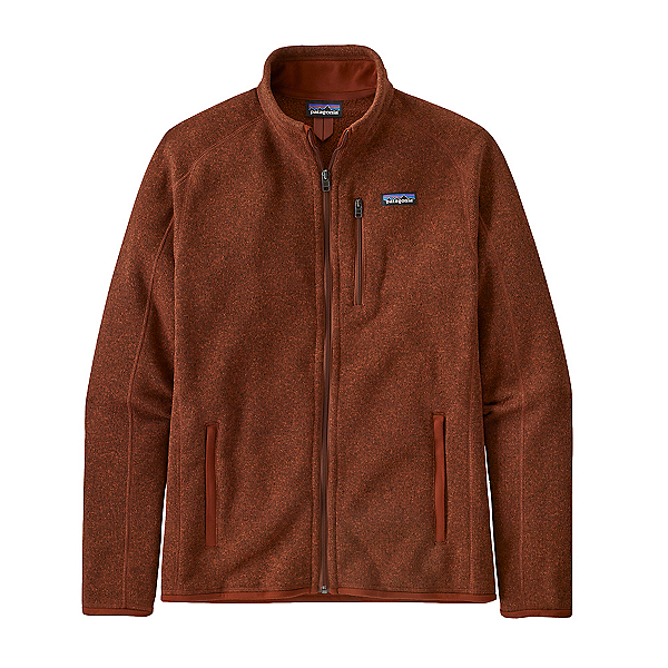 Patagonia Better Sweater Mens Jacket 2022, Barn Red, 600