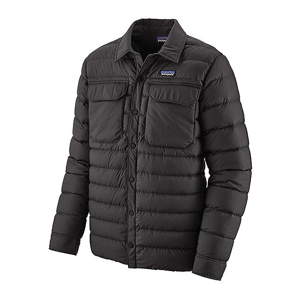 Patagonia Silent Down Shirt Mens Jacket 2021, Black, 600