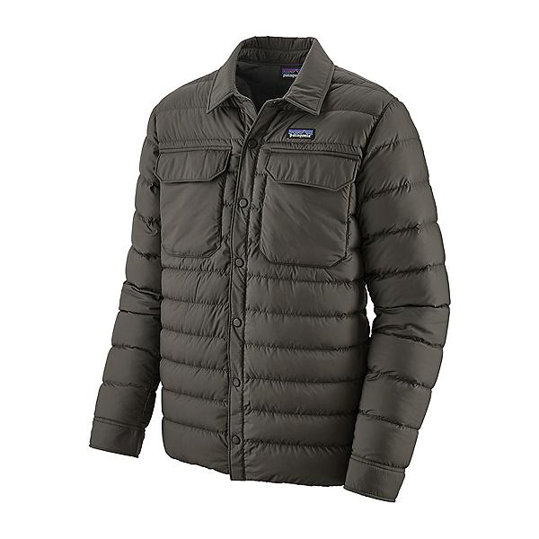 Patagonia Silent Down Shirt Mens Jacket 2021, Forge Grey, 600
